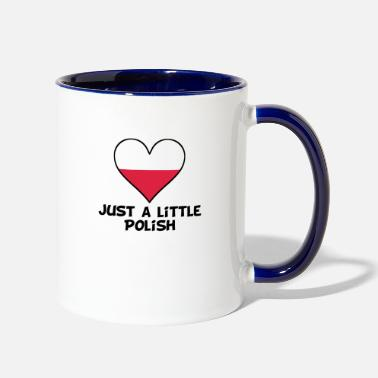 Polish Designs Just A Little Polish - Two-Tone Mug