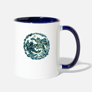 Last Last Defense - Two-Tone Mug