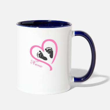 Name Day Name - Contrast Coffee Mug