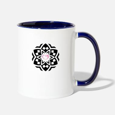 Heart Heart to Heart - Contrast Coffee Mug