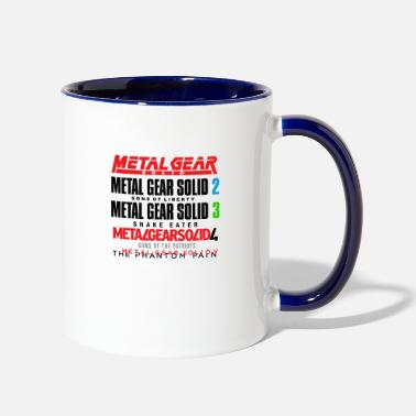 Gear Metal Gear Solid History - Two-Tone Mug
