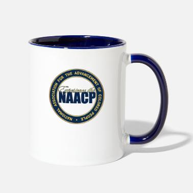 exp naacp - Two-Tone Mug