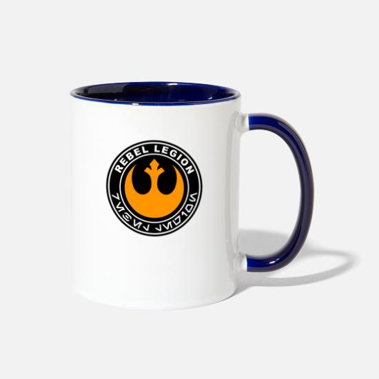 Logo Mugs & Drinkware - rebel legion logo - Two-Tone Mug white/cobalt blue