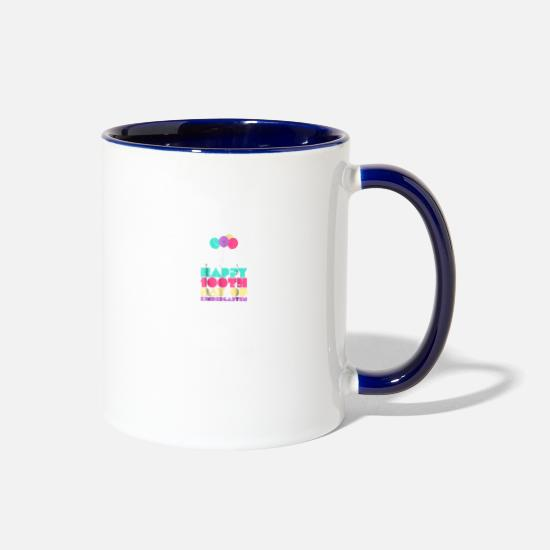 Grab 'Em By The Midterms Feminist Shirt Mugs & Drinkware - Grab 'Em By The Midterms Feminist Shirt - Two-Tone Mug white/cobalt blue
