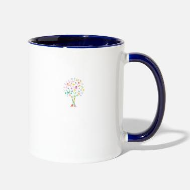 Florals floral - Two-Tone Mug