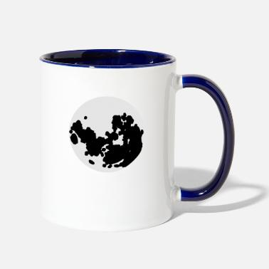 The Moon the moon! - Two-Tone Mug