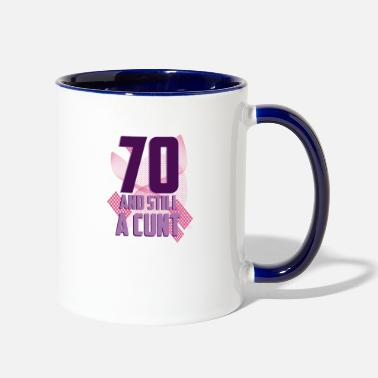 70th Birthday 70th Birthday - Contrast Coffee Mug