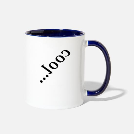 Cool Story Mugs & Drinkware - cool - Two-Tone Mug white/cobalt blue