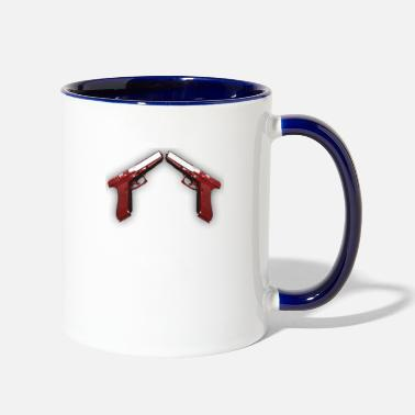 Blood Red Double Weapon Blood Red - Two-Tone Mug