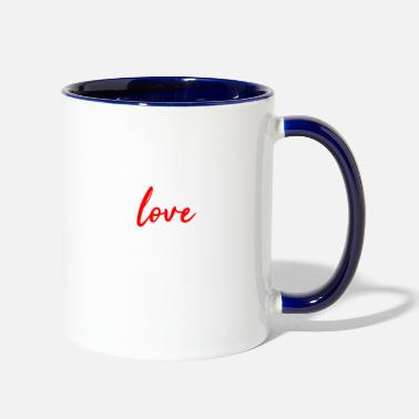 Lake live love lake - Two-Tone Mug