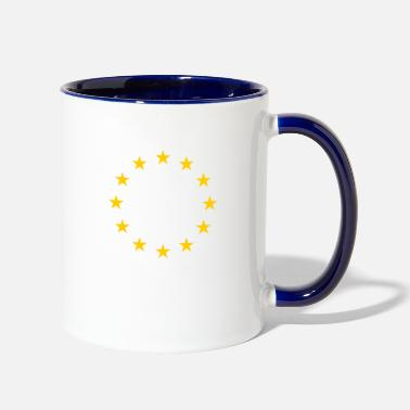 European Champion European stars - Two-Tone Mug