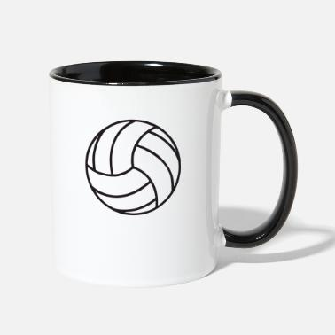 Volley volley new - Two-Tone Mug
