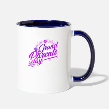 Grand Parents Grand Parents Day - Two-Tone Mug
