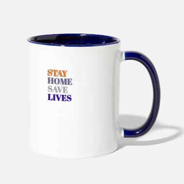 Building Love - Two-Tone Mug