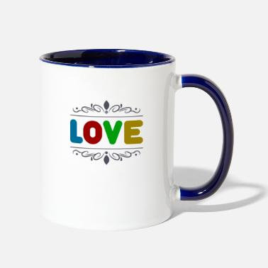 Love Prestige - Two-Tone Mug