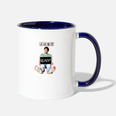 Just Just Ready design - Two-Tone Mug