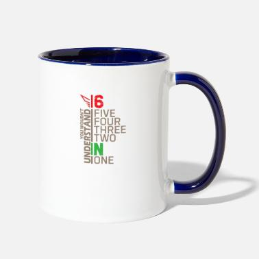 Moped You wouldn't understand Biker Gift Street - Two-Tone Mug