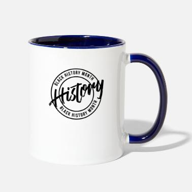 Observation BLACK LIVES MATTER - Two-Tone Mug