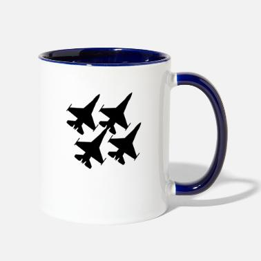Airforce airforce - Two-Tone Mug