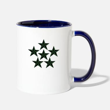 Rank General General of the Armies GAS Rank, Mision Militar ™ - Two-Tone Mug