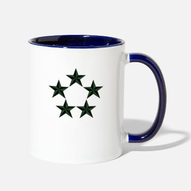 Rank General General of the Army GA Rank, Mision Militar ™ - Two-Tone Mug