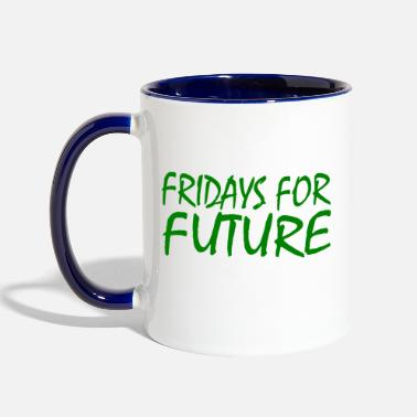 Fridays For Future Fridays for future - Two-Tone Mug