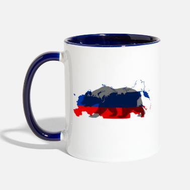 Russian Russian Bear - Contrast Coffee Mug