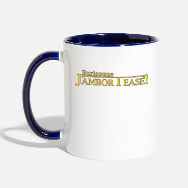 Dr. Shocker's Burlesque JamborTease! - Two-Tone Mug