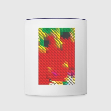 Triangles - Contrast Coffee Mug