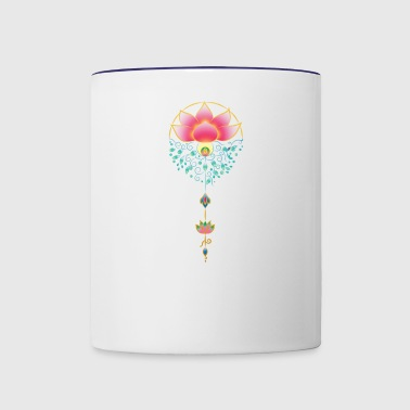 Lotus Art - Contrast Coffee Mug