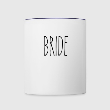 BRIDE - Contrast Coffee Mug