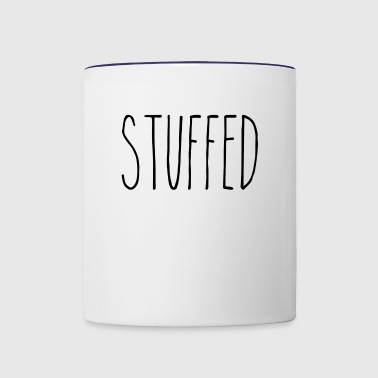 STUFFED - Contrast Coffee Mug