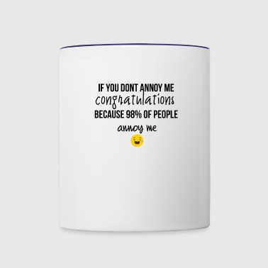 Congratulations - Contrast Coffee Mug