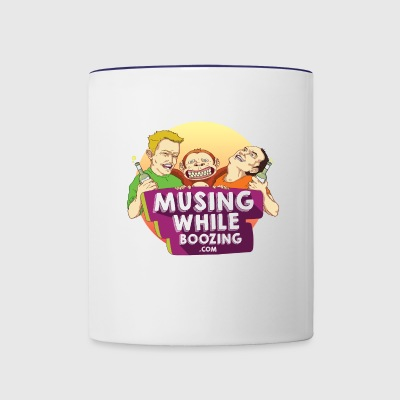 Musing While Boozing - Contrast Coffee Mug