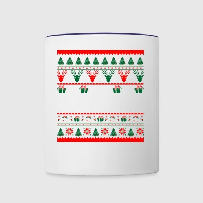 I Am Criminal Justice Christmas Ugly Sweater - Contrast Coffee Mug