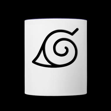 konoha clan - Contrast Coffee Mug