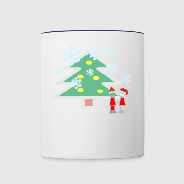 Snowing - Contrast Coffee Mug