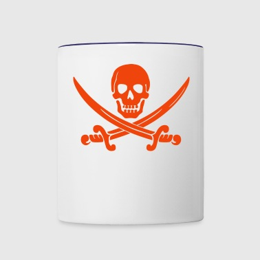 Pirate Skull - Contrast Coffee Mug