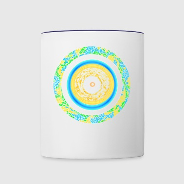 pattern - Contrast Coffee Mug