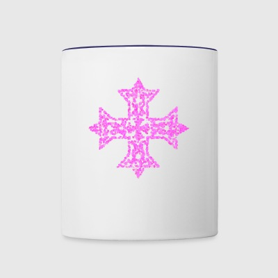 cross10 - Contrast Coffee Mug