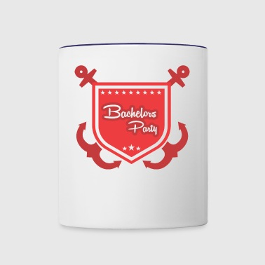 GIFT - BACHELORS PARTY - Contrast Coffee Mug