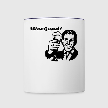 Weekend! - Contrast Coffee Mug