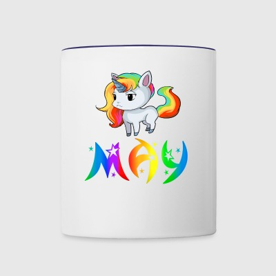 May Unicorn - Contrast Coffee Mug