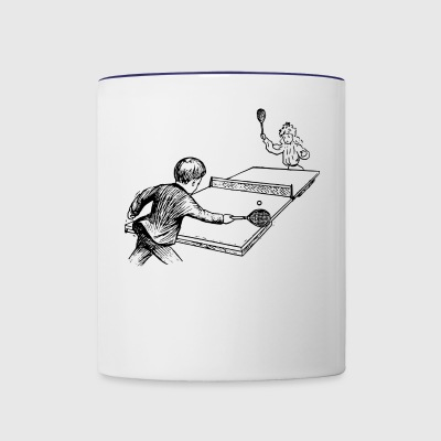 tennis - Contrast Coffee Mug