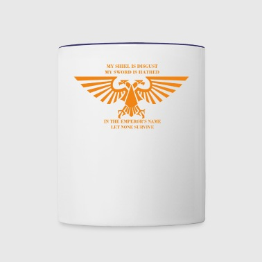 IN THE EMPEROR S NAME - Contrast Coffee Mug