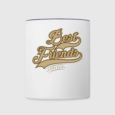 Best Friends Forever - Contrast Coffee Mug