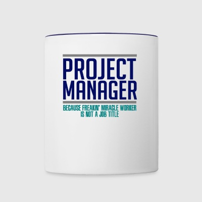 Project Manager - Contrast Coffee Mug