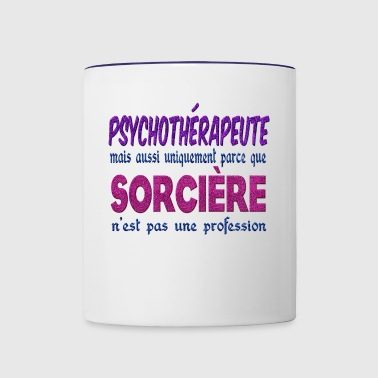 Witch Psychotherapist - Contrast Coffee Mug