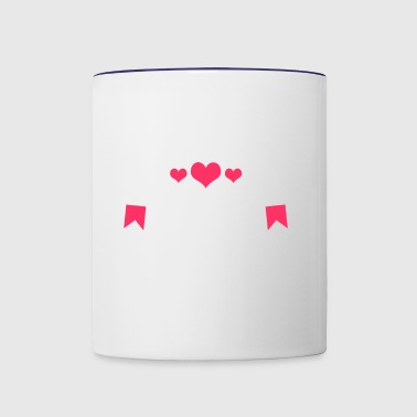 Milk Making Mama | I Love Mama | Mother's Milk - Contrast Coffee Mug