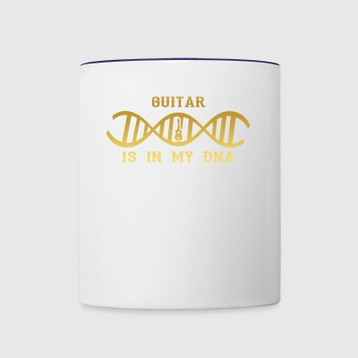 dns dna roots love calling GUITAR GITARRE png - Contrast Coffee Mug